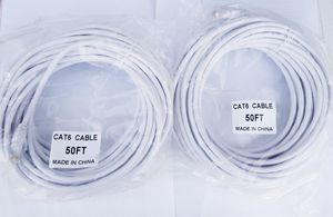 Set of two 50ft em cat6 ethernet network cables for Sale in Chino Hills, CA