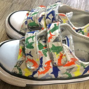 FREE‼️ Baby Shark Converse / Dress Shoes ( BRAND NEW) for Sale in Cuyahoga Heights, OH