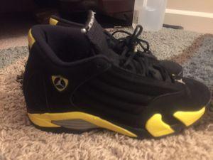 """Jordan retro 14 """"thunder"""" for Sale in Annandale, VA"""