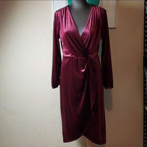 A New Day Size Medium Velvet Knot Dress for Sale in Redmond, WA