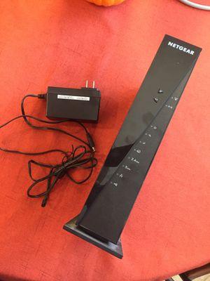 Modem Router- Netgear WiFi cable modem Router for Sale in Sun City, AZ