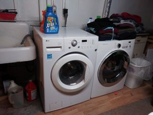 LG washer and Frigidaire dryer for sale for Sale in East Providence, RI