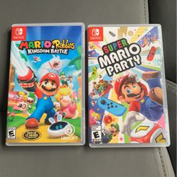 Super Mario Party + Mario Rabbits Kingdom Battle (Nintendo Switch) for Sale in The Bronx,  NY
