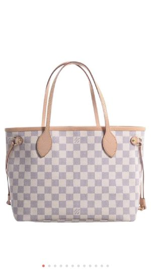 Louis Vuitton Neverfull Damier Azur Canvas Shoulder Purse for Sale in Murfreesboro, TN