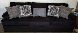 Couch Dark Blue 8 feet 3 inches Long for Sale in Tulare, CA