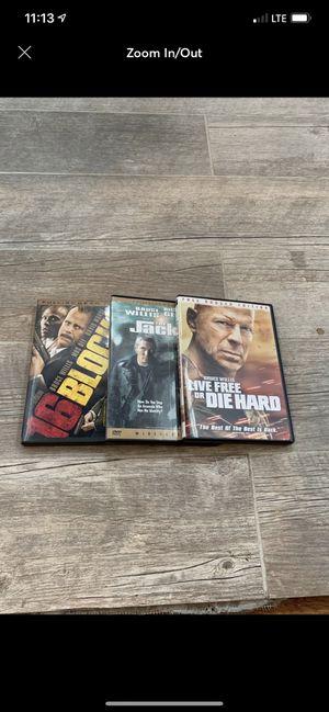 Bruce Willis DVD's for Sale in Providence, RI