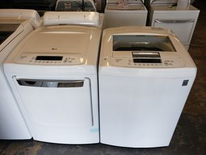 Lg XL capacity washer and gas dryer for Sale in Stafford, TX