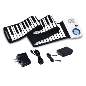 88 Keys Midi Electronic Roll up Piano Silicone Keyboard for Sale in Wildomar, CA