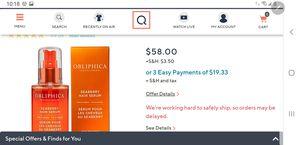Brand New!! Obliptlica Seaberry Hair Serum for Sale in Columbia, TN