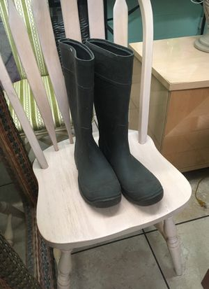 Rubber boots size 10 for Sale in Fort Lauderdale, FL