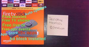 Unlocked Amazon Firestick HD 🔓🔥 for Sale in Plainfield, IL