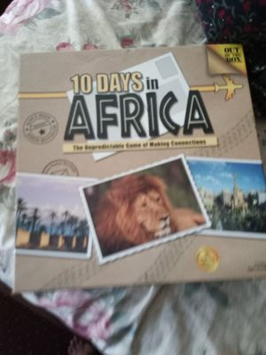 10 days in Africa for Sale in Detroit, Michigan