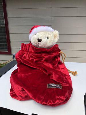 Herrington Teddy Bear Ivory 14 Plush Beanie Toy for Sale in San Antonio, TX