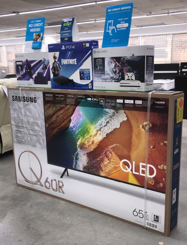 """65"""" SAMSUNG QLED SMART TV with GAMING CONSOLE ,NO CREDIT REQUIRED"""