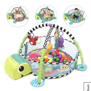 Like New Grow with Me 3 In 1 Infantino Turtle Ball Pit With Balls for Sale in Groveport, OH