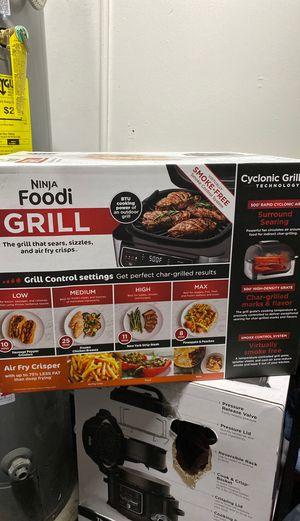 Ninja foodi Grill Kitchen appliances for Sale in Los Angeles, CA