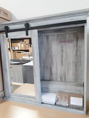 NEW BARN DOOR MEDICINE CABINET for Sale in Glendale, AZ