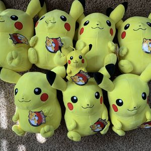 "Pikachu plush large 14"" size brand new with tags $15 each for Sale in Corona, CA"