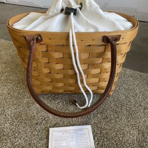 Longaberger Medium Good Ol Summertime Boardwalk Basket for Sale in San Dimas, CA