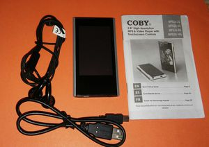 """Coby 2.8"""" High-Resolution MP3 &Video Player with Touch Screen Control for Sale in Lynchburg, VA"""