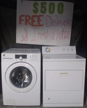 Kenmore Elite Washer and Whirlpool Gas Dryer for Sale in Lynwood, CA