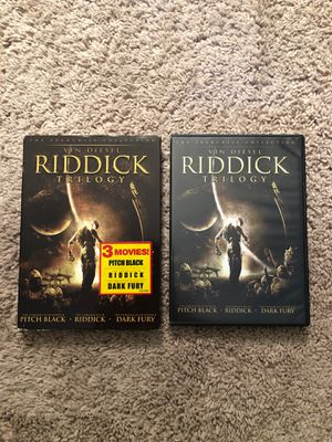 Riddick Trilogy for Sale in Tampa, FL