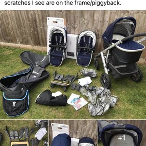 Uppababy vista with Travel System for Sale in Sewickley, PA