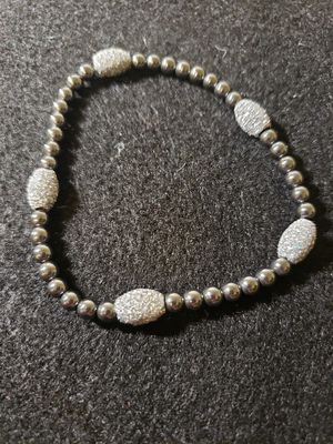 Gun metal gray and silver bracelet. for Sale in Las Vegas, NV