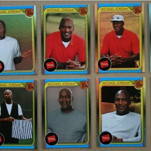 2019 Fleer Michael Jordan Hanes COMPLETE ALL STAR FOIL SET (FREE SHIPPING) for Sale in Upper Marlboro, MD