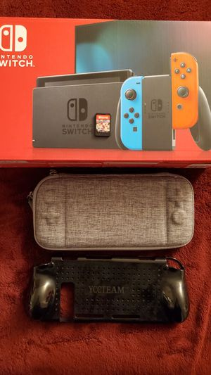 Nintendo Switch and Mario Kart 8 for Sale in Downey, CA