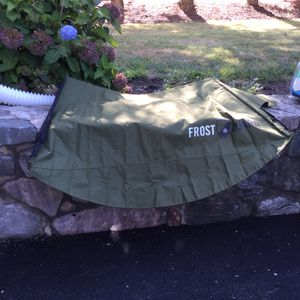 Frost Guard windshield and wiper cover. 2 available. Blue and green size 60x 32 fits cars and suvs 20.00 ea for Sale in Waltham, MA