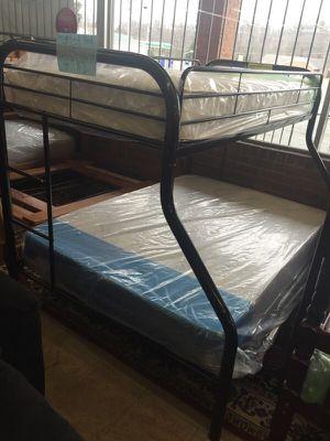 Metal bunk bed T/F for Sale in Manassas, VA
