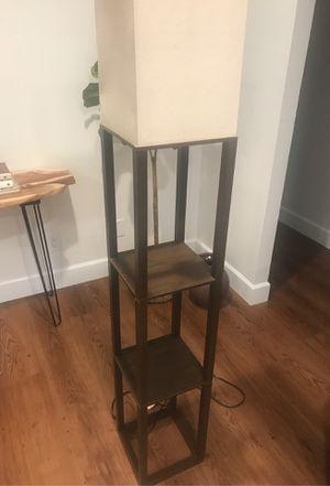 Floor Lamp with Shelving for Sale in Phoenix, AZ