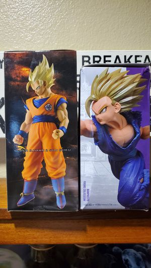 DBZ - Dragon Ball Z - Collectors Statues - Goku - Gohan for Sale in San Jacinto, CA