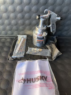Husky Siphon Feed General Purpose Spray Gun for Sale in Redlands, CA