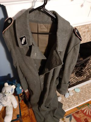 Giant wool military overcoat for Sale in PORT WENTWRTH, GA