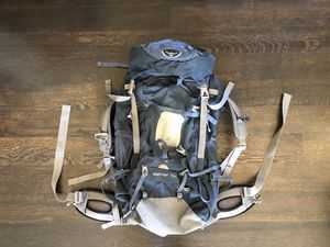 Osprey Aether 70 Hiking/Backpacking Backpack Navy Blue for Sale in Reno, NV