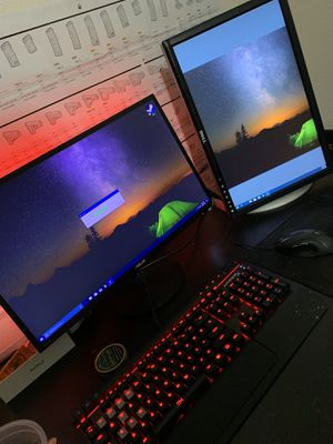 ASUS & Vertical Dell Gaming Monitors for Sale in Byron, CA