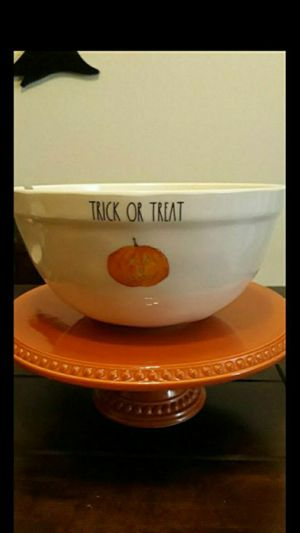 Rae Dunn Halloween Melamine Trick or treat bowl 2019 for Sale in Glendora, CA