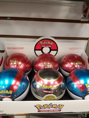 Poke Ball Tins Pokemon for Sale in Frisco, TX
