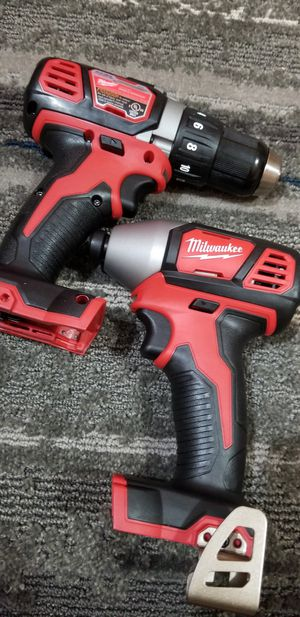 Milwaukee M18 drills (TOOLS ONLY ) for Sale in Kansas City, MO