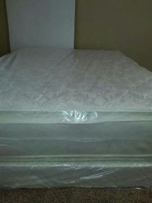 New full pillow top mattress and box spring available. Delivery is available for Sale in Yuba City, CA