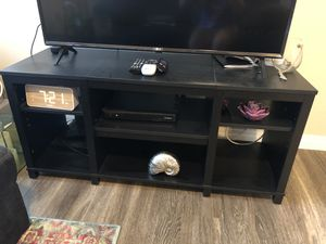 Black TV stand for Sale in Henderson, NV