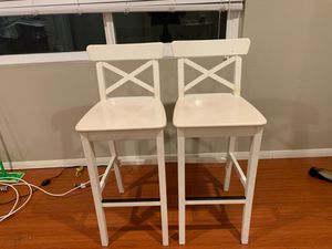White Barstool Chairs for Sale in Huntington Beach, CA