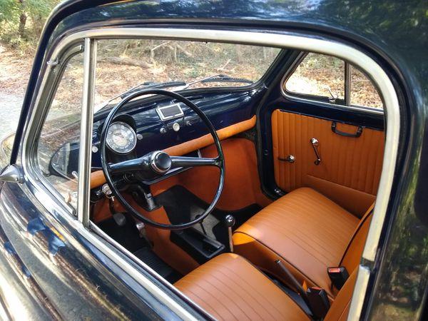1972 Classic Fiat 500F