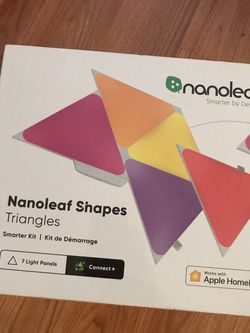 Nano Leaf Triangle Shapes Read Profile for Sale in Stamford,  CT