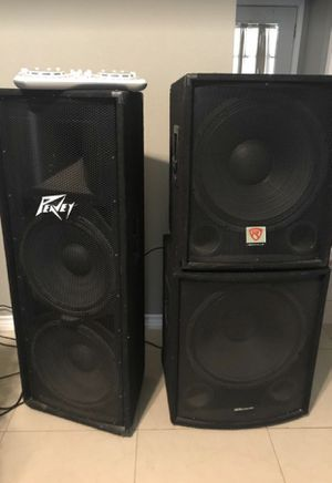 Dj speakers for Sale in Channelview, TX