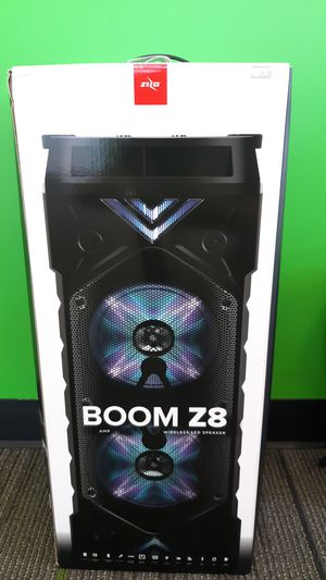 BOOM Z8 altavoz bluetooth for Sale in Wichita Falls, TX