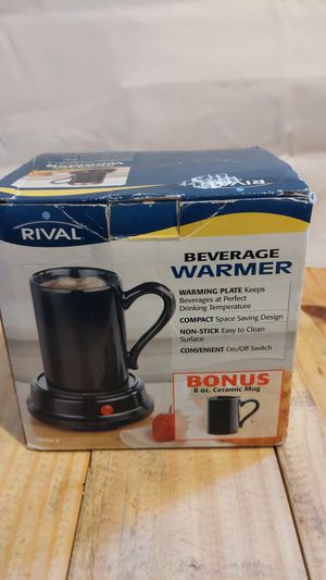 Rival 2 Piece Beverage Warmer 8 ounce Mug Included for Sale in South Williamsport, PA