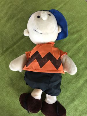 Charlie brown peanuts character stuffed collectible toy for Sale in West Palm Beach, FL